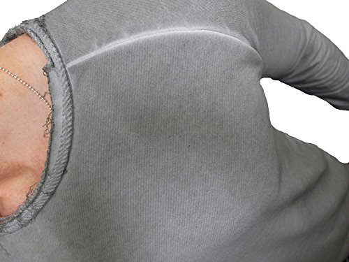 "Oversize Designer Pullover "" WASHED STYLE "" Sweat Jacke long Cardigan Hoody Shirt Herren Hoodie - 2"