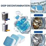 CBCA Detergente per Bombe, detergente per Pulizia in profondità Pulitore per decalcificatori detergente per Pulizia Professionale Detergente per Macchie e odori per la casa (50PCS)