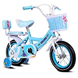 SGMYMX Boy Bicycle Vélo d'enfant Princess Student Bike Girl vélo à pédales 12