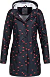 ONLY Damen Regenjacke Fine 15160014 Night Sky/Lips M