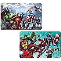 Marvel Avengers - Los Vengadores, Salvamantel individual con efecto 3D lenticular, 2 modelos surtidos