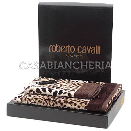 Paar Handtücher Roberto Cavalli Home Linie Bravo