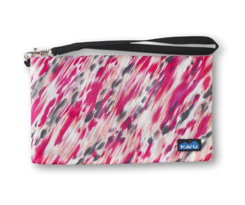 Kavu Damen Portemonnaie clutch-n-go Pink Paint