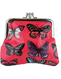 Miss Lulu Sac à main pour femme Motif Papillon Pochette Sac à main cartable avec bandoulière