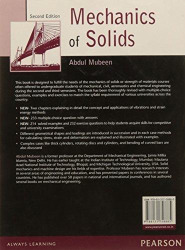 Mechanics of Solids, 2e