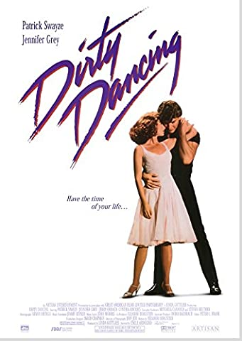 Dirty Dancing Poster Borderless Vibrant Premium Movie Poster Various Sizes (A2 Size 23.4 x 16.5 Inch / 594 x 420