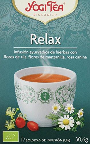 Yogi Tea Infusión de Hierbas Relax - 17 bolsitas - [confezione da...