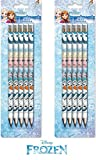 Disney Frozen: 10 Bleistifte mit Radiergummi im 5er Set