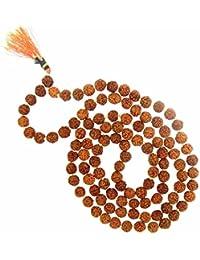Arihant Gems & Jewels Brown Rudraksha Mala for Men and Women