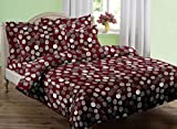 Swaas Tore Single Printed Cotton Bed She...