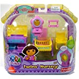 Dora Magical Welcome House Furniture Set Twins' Nursery by Fisher-Price