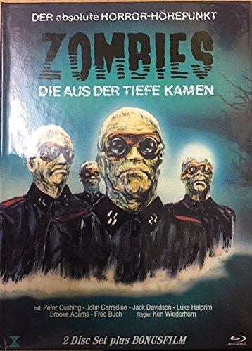 SHOCK WAVES - ZOMBIES DIE AUS DER TIEFE KAMEN Uncut Mediabook Limited Edition ( 444 Stück ) BLU-RAY + DVD Cover A incl. Nazi Zombie Bonusfilm