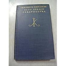 Also sprach Zarathustra.