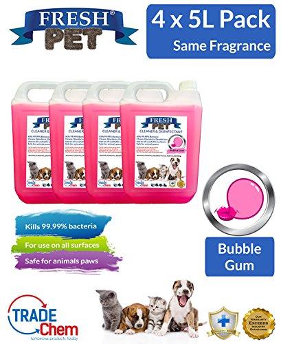 4-x-5l-fresco-mascota-de-la-perrera-cattery-desinfectante-limpiador-ambientador-bubble-gum