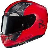 Motorradhelm HJC RPHA 11 DEADPOOL 2 MARVEL MC1SF, Rot/Schwarz, M