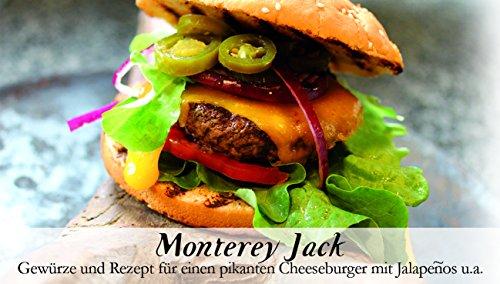 Feuer & Glas Monterey Jack Cheeseburger Gewürzbox 51g