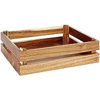 APS Holzbox -SUPERBOX- aus Akazienholz, 35 x 29 x 10,5 cm preisvergleich bei kinderzimmerdekopreise.eu