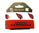 NFL Arizona Cardinals Silikon Gummi Armband, Damen, rot, Arizona Cardinals