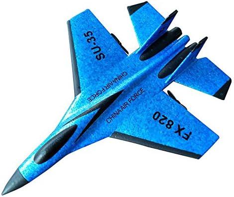 ZMH RC Combat à à à voilure Fixe RC Drone FX-820 2.4 G télécomFemmede Avion modèle RC hélicoptère Drone Quadcopter Hi,Blue | Mode  3c1708