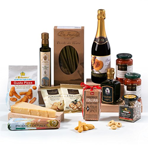The Italian Gourmet - Food Hamper Box Gift- FREE UK Delivery