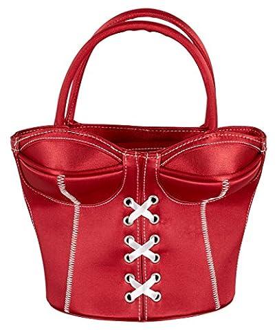 Orion Korsett-Handtasche rot
