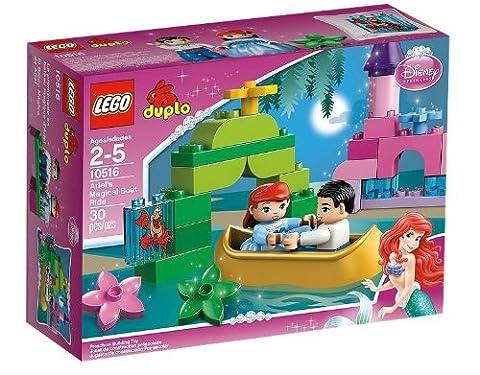 LEGO DUPLO Princesse - 10516 - Jeu de Construction - La Promenade en Bateau de la Petite Sirène