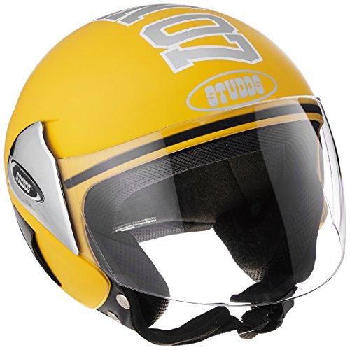 Studds Cub 07 Half Helmet (Yellow, L)