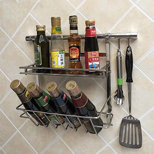 Yuang Edelstahl Küchenregal Küchenregal Küchenregal Behänge Küchenregal Lagerung