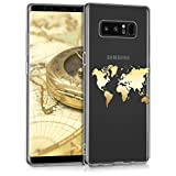 kwmobile Samsung Galaxy Note 8 DUOS Hülle - Handyhülle für Samsung Galaxy Note 8 DUOS - Handy Case in Gold Transparent