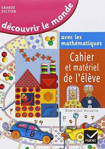 Dcouvrir le monde avec les mathmatiques Grande section de maternelle