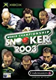 Cheapest World Championship Snooker 2003 on Xbox