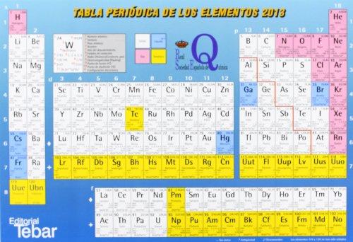 Tabla periódica de los elementos 2013 por Pascual Román Polo