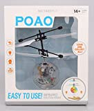 POAO RC Fliegender Ball,Mini Flugzeug-Hubschruber,Infrarot Induktionshubschrauber Ball Spielzeug (Disco Lichter) für POAO RC Fliegender Ball,Mini Flugzeug-Hubschruber,Infrarot Induktionshubschrauber Ball Spielzeug (Disco Lichter)