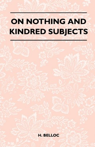 On Nothing And Kindred Subjects Cover Image