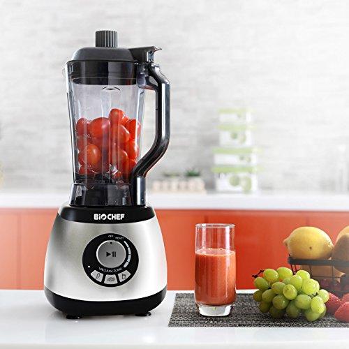Bio Chef AirFree - Batidora al vacío | Batidora de Vaso 2L | Vacuum Blender | Accesorios: 4 x Contenedores...