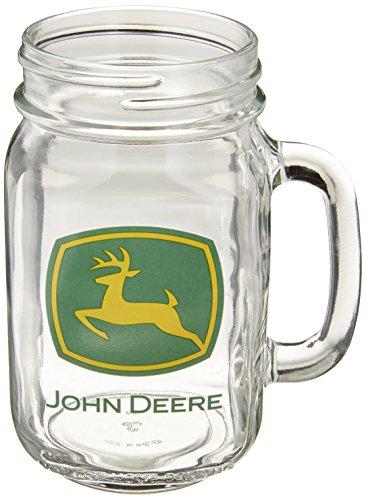 M. CORNELL IMPORTERS M. Cornell Importeure John Deere Markenzeichen Drink Jar, 16Unze (John Deere Container)