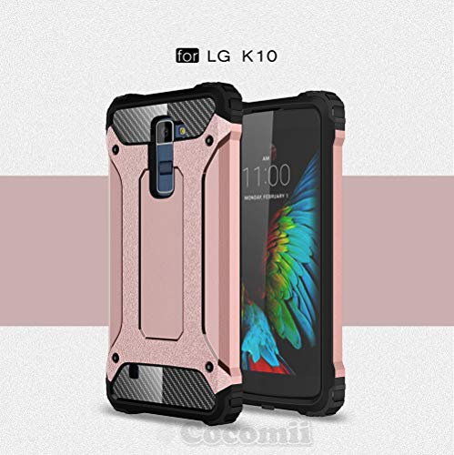 LG K10/PREMIER, Rose Gold (Dragon Ball Z Phone Case Lg G3)