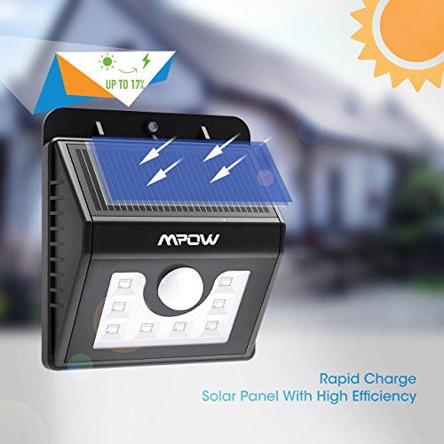 Mpow Solarleuchte 8 LED - 4