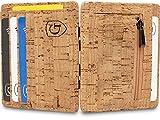 GenTo Vegas Magic Wallet - Das Original - TÜV geprüft - Dünne Geldbörse mit Münzfach - Geschenk für Herren mit Geschenkbox - Smarter Geldbeutel - Slim Portemonnaie | Design Germany