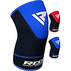 RDX Neopreno Elástica Soporte Rodilla Deportivo Fitness Ligamento Rodillera (Se Vende como un Solo Elemento)