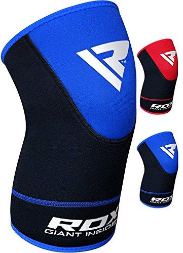 RDX Kniestütze Sport Knieschoner Kniebandage Elastische kniebandagen Knieorthese Knieschützer (Das Paket Enthält Einzelstück)(MEHRWEG)