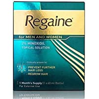 REGAINE 2% SPRAY 60 ML BOTTLE