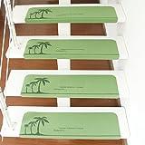 GAOCC Teppich Treppen-Auflage-Teppich-Aufkleber Rutschfester Mehrfarben 55 * 22 * 4.5cm 70 * 22 * 4.5cm,A-70 * 22 * 4.5cm