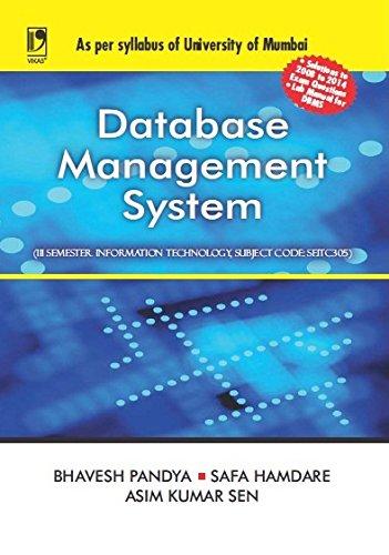 Database Management System (University of Mumbai)