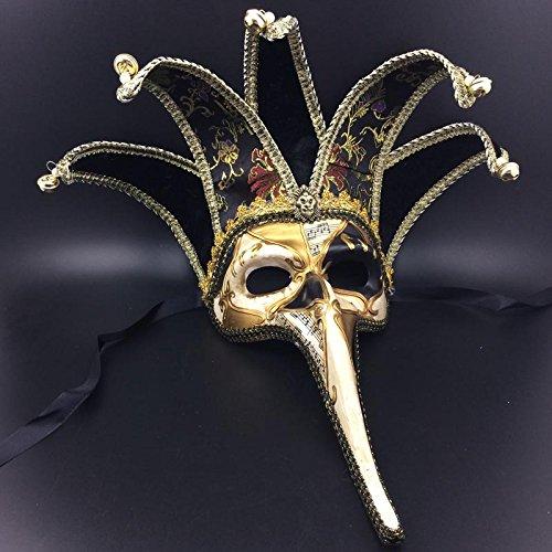 Kostüm Wolf Diy Halloween (Xizi Miniatur Keramik Venetian)