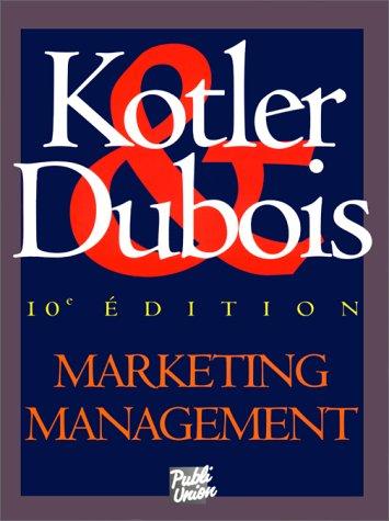 Marketing Management par philip Kotler