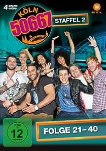 Köln 50667 - Staffel 2 (Folge 21-40) [4 DVDs]