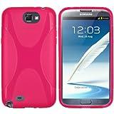 mumbi X-TPU Silikon Schutzhülle für Samsung Galaxy Note 2 pink