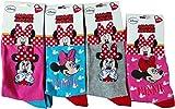 Die besten Disney Mädchen Socken - Disney Minnie Maus Socken 4er Pack - Lache Bewertungen