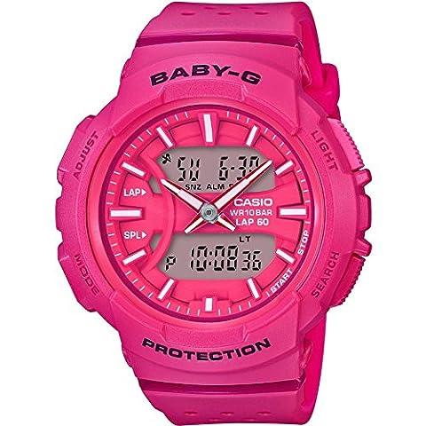 Casio Baby-G – Damen-Armbanduhr mit Analog/Digital-Display und Resin-Armband – BGA-240-4AER